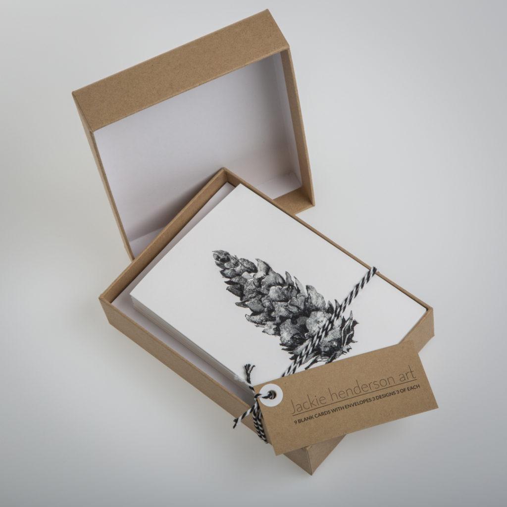 Pine Cone Card Baox