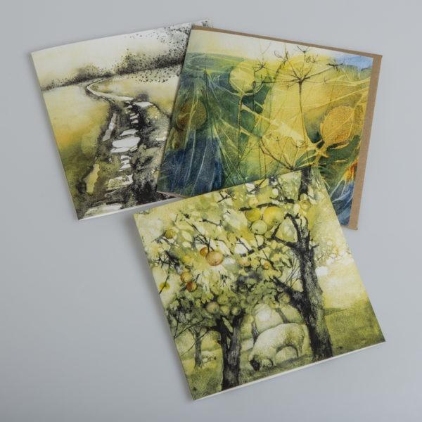 Golden Hues Card pack