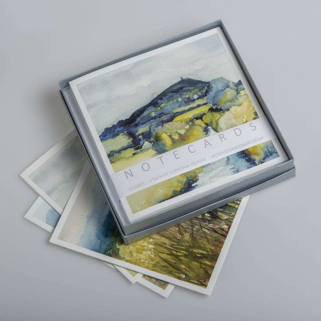 Glastonbury Tor and the Levels Card Box