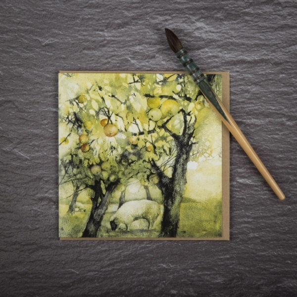 Golden Orchard Card